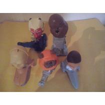 5 Bonecos Star Wars Mc Donald