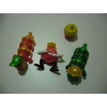 Lote De 4 Brinquedos Kinder Ovo (centopéias, Relógio E Pião)