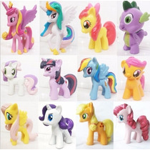 Lote De 12 Mini Bonecos My Little Poney My Pony - No Brasil