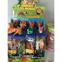 Dinossauros Kit Animais Do Mundo Miniaturas!