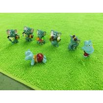 Lote 7 Miniaturas Kinder Ovo Ferrero Rocher Elefante Hipopot