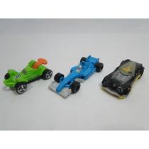 Brinquedo Carro Mpg Miniatura Kinder Ovo Corrida Lote Com 3