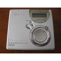 Mini Disc Sony Net Md Mz-n510 Lindo Japonês Estúdio Raro