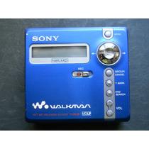 Md Walkman Sony - Mzn707 - Gravador E Reprodutor - Importado
