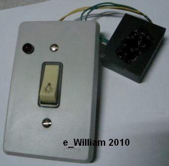 Minuteria Eletronica 220v-240w Incandescente C/pulsad E Led