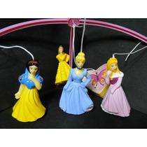 Mobile Musical Giratório Princesas Disney Para Berço Bebe