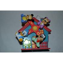 Mobile Giratorio Musical De Carrinho E Berço Do Mickey Baby