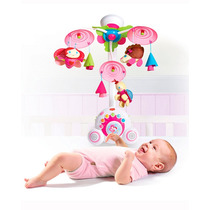 Mobile Sonoro Soothe N Groove Bebe Menina Rosa Tiny Love