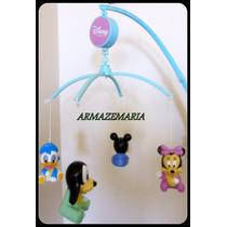 Mobile Musical Giratório Infantil Mickey Baby Berço