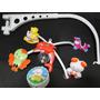 Mobile Giratorio Musical Animais Disney Para Berço Bebe