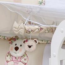 Móbile Quarto De Bebê Menina Flores Coleção Keka Hb