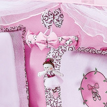 Móbile Quarto De Bebê Menina Coleção Bailarina