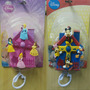 Móbile De Berço Musical Disney, Princesas Ou Turma Do Mickey