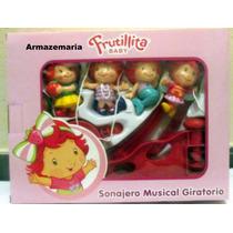Mobile Musical Giratório Infantil Frutillita Baby
