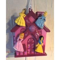 Móbile Giratório Musical Carrinho E Berço Disney Princesas