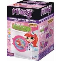 Meg Maquina De Lavar Roupa Eletrica Magic Toys