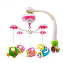Móbile Giratório Peixinho Musical Para Berço Bebê