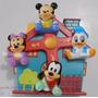 Móbile Giratório Musical Carrinho / Berço Disney Mickey Baby