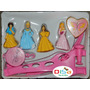 Móbile Giratório As Princesas Disney Musical Para Berço