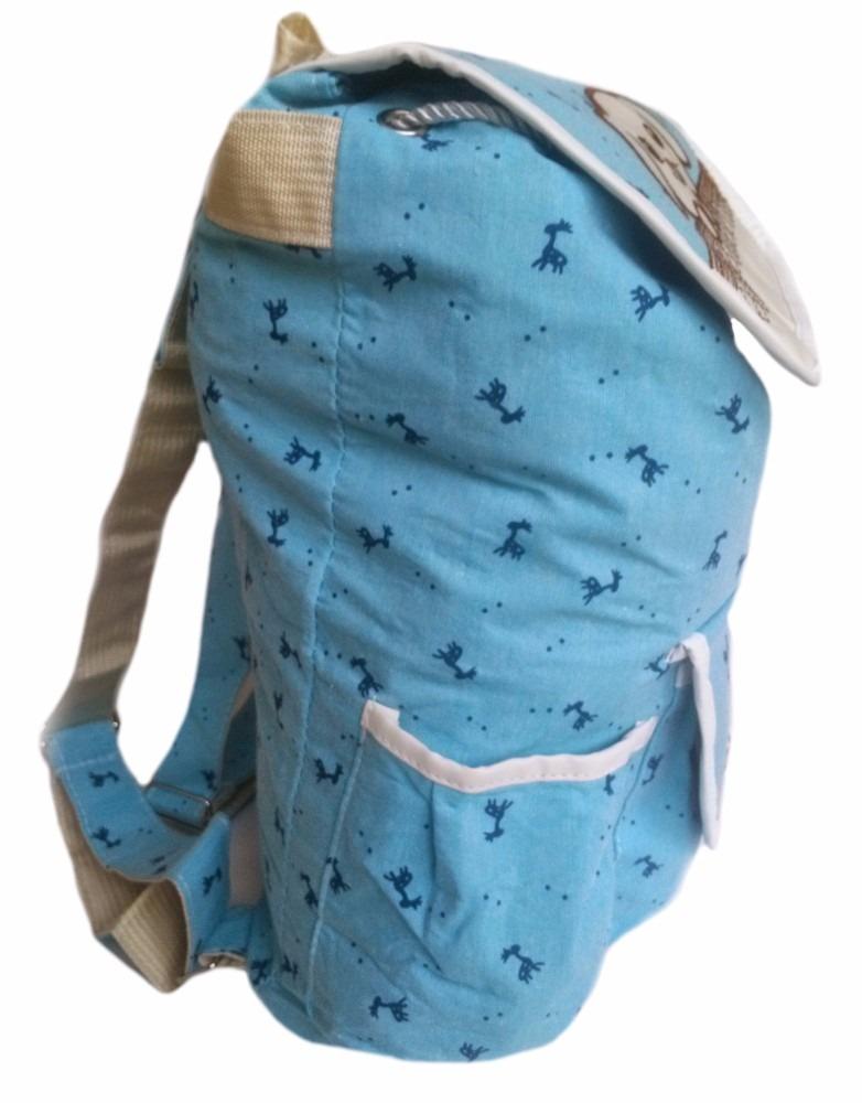 Bolsa Feminina De Faculdade : Mochila escolar lona azul bolsa pano feminina faculdade
