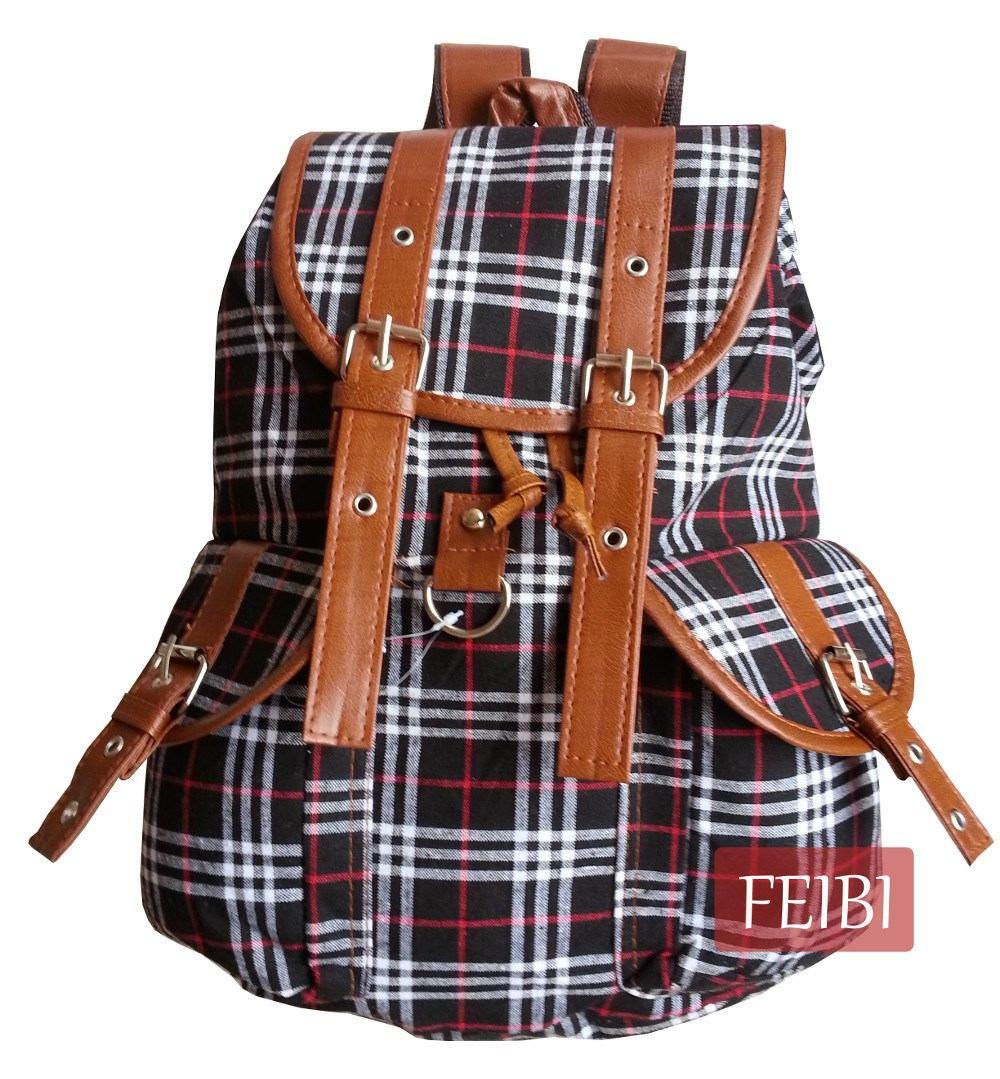 Bolsa Escolar Infantil Feminina Mercado Livre : Mochila escolar lona preta bolsa pano feminina infantil