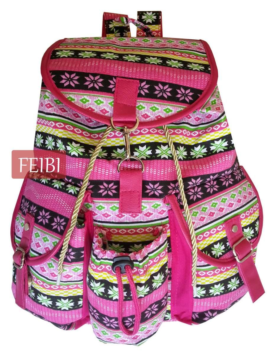 Bolsa Escolar Feminina Infantil : Mochila escolar lona preta bolsa pano feminina infantil