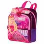 Mochila Escolar Pequena Barbie Princesa E A Popstar Sestini