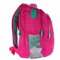 Bolsa Mochila Feminina Escolar Pink Para Notebook 15.6