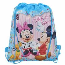 Mochila Sacola Infantil Mickey Mouse