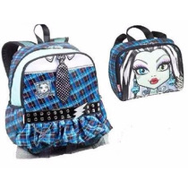 Mochila Monster High Frankie Costas + Lancheira