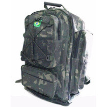 Mochila Cargueira Camuflada ,mochila De Acampamento 70 Lts