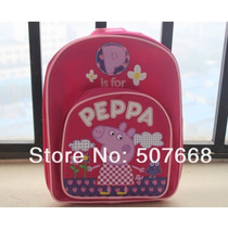 Mochila Infantil Da Peppa Pig Rosa A Pronta Entrega