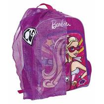 Mochila Infantil Costas Barbie Super Princesa M C/capa