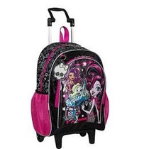 Kit Mochila + Lancheira + Estojo Monster High - Sestini