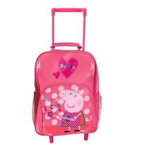 Bolsa Escolar Peppa Pig Rocks Wheeled Bag Original