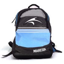 Mochila Maresia Stripes Black Blue Original