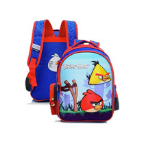 Mochila Costa Angry Birds 3d Vermelha/azul - Santino