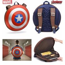Mochila Escudo Capitão América Avengers -importada, Original