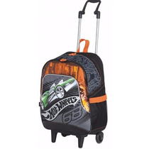 Mochila De Rodinhas Hot Wheels Media Sestini