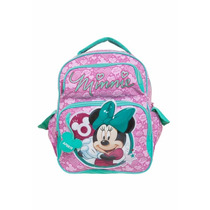 Mochila Minnie 12y Media Rosa Sestini
