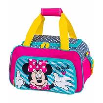 Nova Sacola Infantil Grande Minnie 16y Original Da Sestini