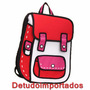 Mochila 3d Cartoon Pronta Entrega!!!