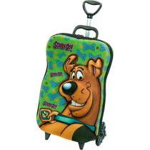 Mochila Escolar Mochilete 3d Scooby-doo + Lancheira