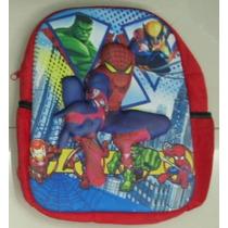 Mochila Homem Aranha Infantil 3d Alto Relevo Desenhos