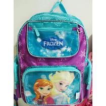 Mochila Infantil Escolar Sem Rodinha Personalizada Frozen