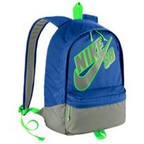 Mochila Nike Sb Piedmont - Azul / Cinza / Verde