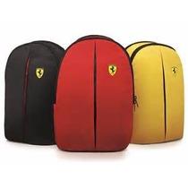 Mochila Original Ferrari (direto Revendedor Shell)