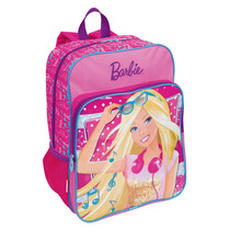 Mochila Barbie G Com Bolso 16m Plus | Rosa- 63851 - Catmania
