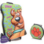 Mochila Com Carrinho Scooby-doo 3d + Lancheira