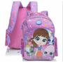 Mochila De Costas Infantil Dmw G Pink Littlest Pet Shop